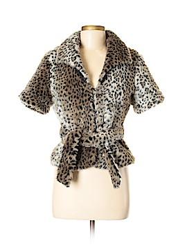 Paris Blues Faux Fur Jacket Size M