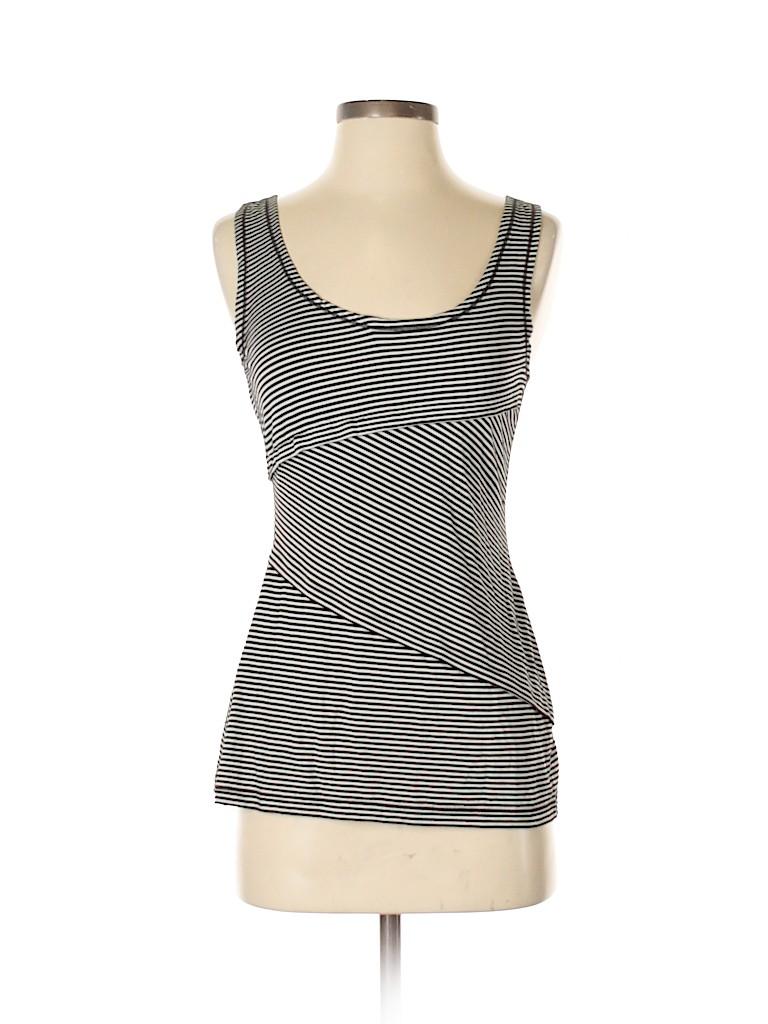 4b720f694de28e Max Studio Stripes Black Sleeveless Top Size S - 81% off