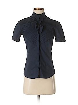 GO Short Sleeve Button-Down Shirt Size S