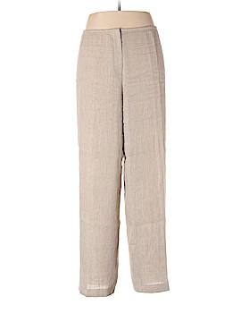Eileen Fisher Linen Pants Size XL