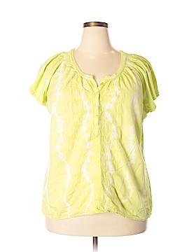 Bandolino Short Sleeve Blouse Size XXL