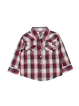 Wrangler Jeans Co Long Sleeve Button-Down Shirt Size 6-9 mo