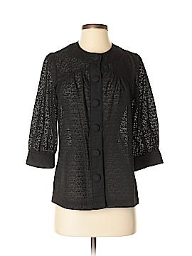 A.n.a 3/4 Sleeve Button-Down Shirt Size S