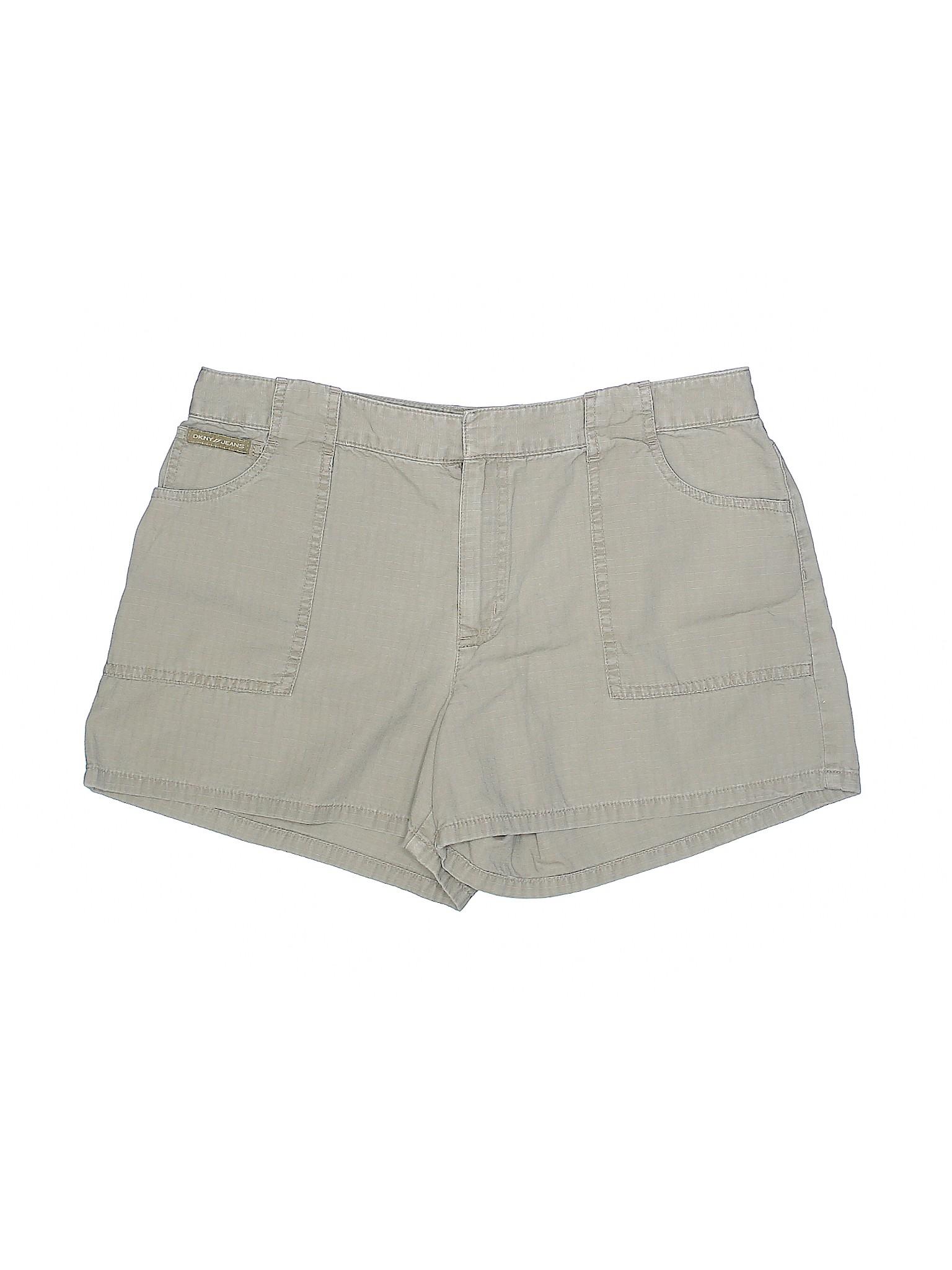 Khaki Leisure Jeans winter DKNY Shorts px6Pw4xq