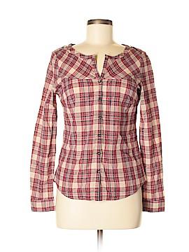 Comptoir des Cotonniers Long Sleeve Button-Down Shirt Size 38 (FR)