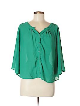 Chloe K Long Sleeve Blouse Size M
