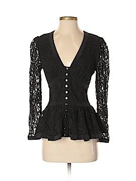 Betsey Johnson Long Sleeve Blouse Size 4