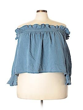 ASOS 3/4 Sleeve Blouse Size 18 (Plus)