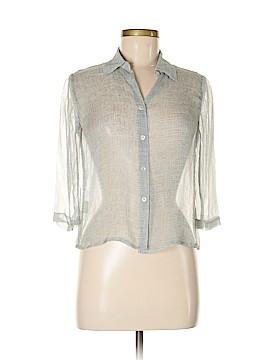Jones New York 3/4 Sleeve Silk Top Size 8 (Petite)