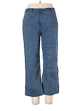 Barbara Lesser Fibers Jeans Size 14