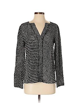 Belstaff Long Sleeve Silk Top Size 40 (IT)