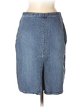 Ann Taylor Denim Skirt Size 8