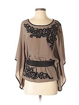 Karen Kane 3/4 Sleeve Silk Top Size XS
