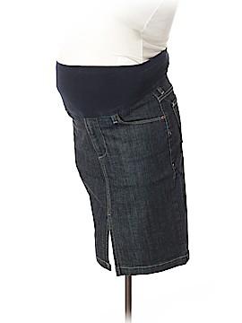 A Pea in the Pod Denim Skirt 31 Waist (Maternity)