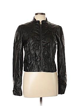 Heart Soul Faux Leather Jacket Size L