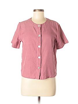 Orvis Short Sleeve Silk Top Size S