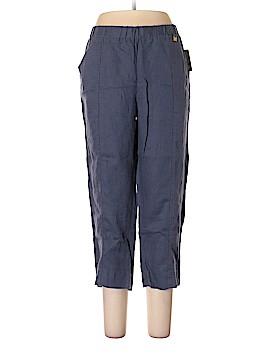 Ellen Tracy Linen Pants Size L