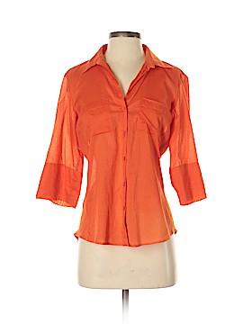 Ann Taylor LOFT Outlet 3/4 Sleeve Button-Down Shirt Size 5