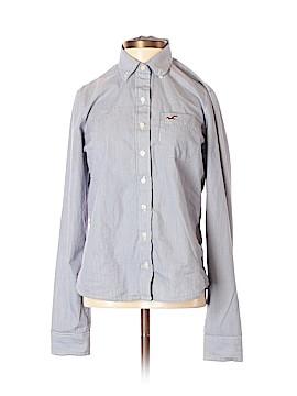 Hollister Long Sleeve Button-Down Shirt Size S