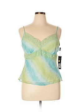 Daisy Fuentes Sleeveless Silk Top Size XL