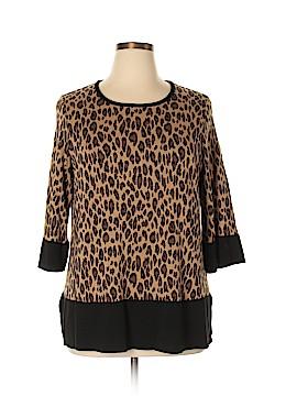 Nina Leonard Pullover Sweater Size 1X (Plus)