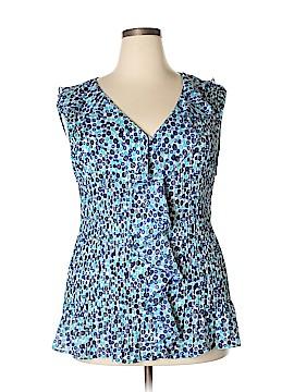 Sunny Leigh Sleeveless Blouse Size 3X (Plus)