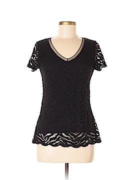 Papillon Blanc Short Sleeve Top Size M