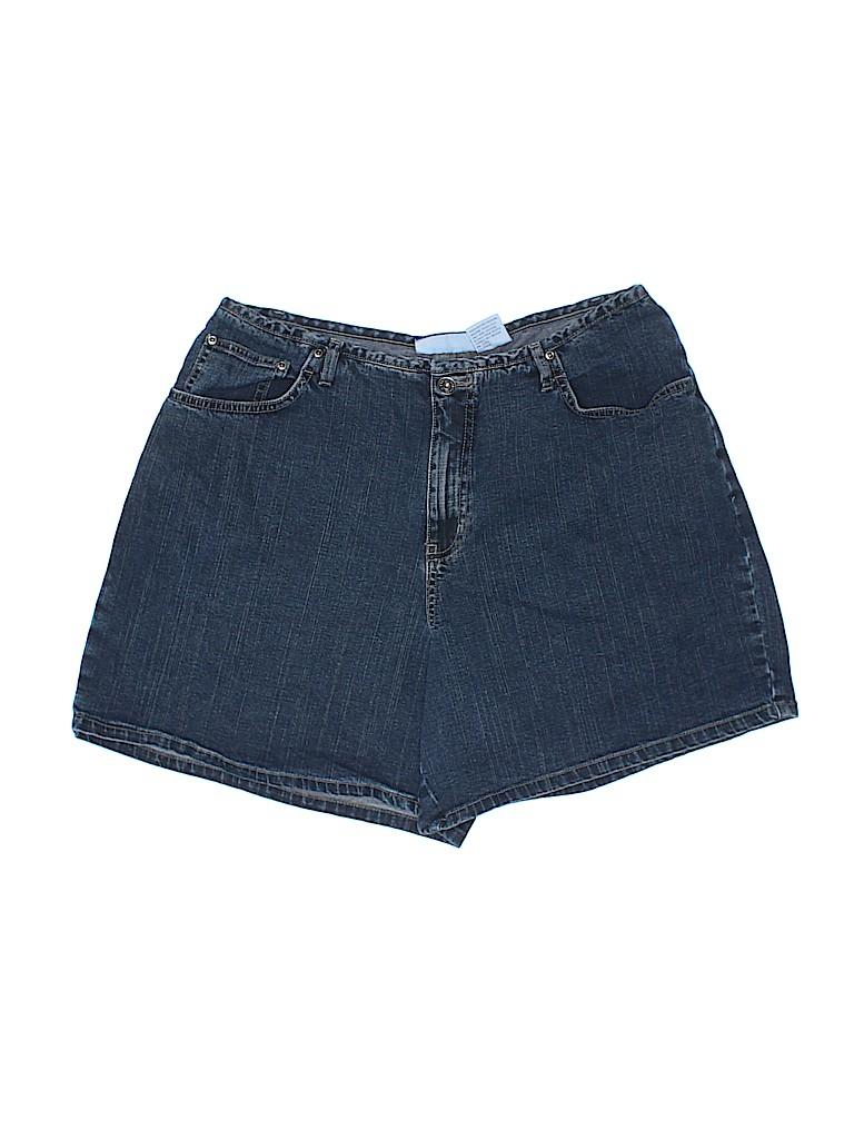 L.A. Blues Women Denim Shorts Size 18W (Plus)