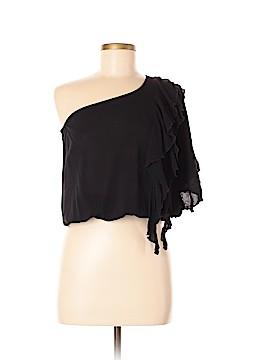 Solemio Short Sleeve Blouse Size M