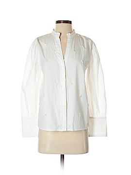 Zara Collection Long Sleeve Button-Down Shirt Size XS