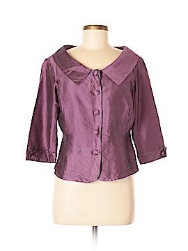 Sunny Leigh 3/4 Sleeve Silk Top Size 10