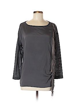 Fabiana Filippi 3/4 Sleeve Silk Top Size 42 (IT)