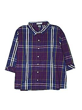 Rebecca Malone 3/4 Sleeve Button-Down Shirt Size 2X (Plus)