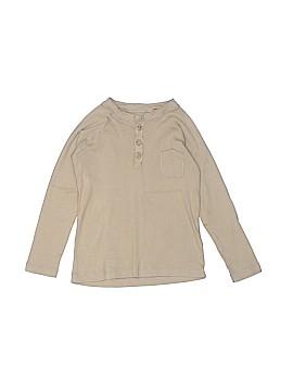 Bonpoint Long Sleeve Henley Size 6