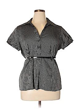 Apt. 9 Short Sleeve Button-Down Shirt Size 18 (Plus)
