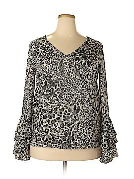 Cupio Long Sleeve Blouse Size XL