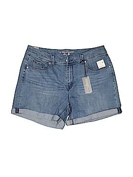 Melissa McCarthy Seven7 Denim Shorts Size 16 (Plus)