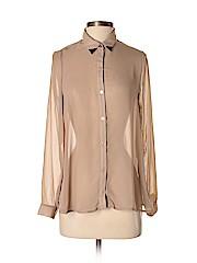 Lush Women Long Sleeve Blouse Size S