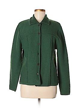 Karen Scott Wool Cardigan Size L