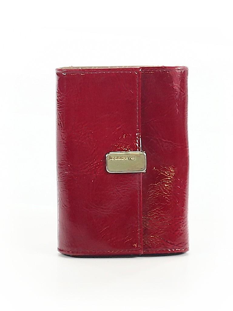 Liz Claiborne Women Leather Wallet One Size