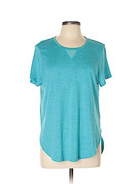 Danskin Short Sleeve Blouse Size L