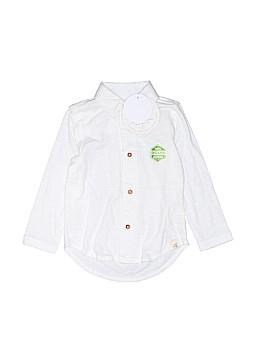 Burt's Bees Baby Long Sleeve Button-Down Shirt Size 18 mo