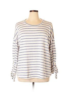 Caslon Pullover Sweater Size 1X (Plus)
