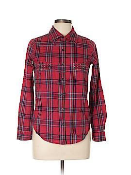 Lovers + Friends Long Sleeve Button-Down Shirt Size XS