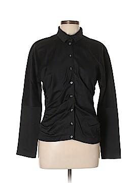 Magaschoni Long Sleeve Button-Down Shirt Size 10