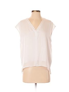 HEATHER Short Sleeve Silk Top Size P