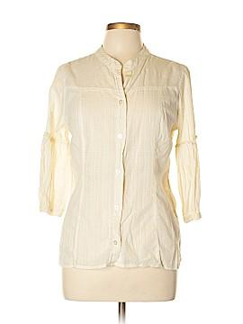 CALVIN KLEIN JEANS Short Sleeve Blouse Size L