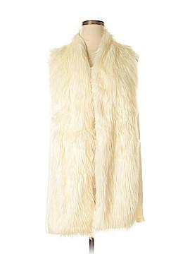 French Laundry Faux Fur Vest Size 3X (Plus)