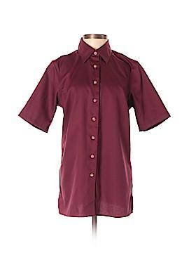 Lands' End Short Sleeve Button-Down Shirt Size XS