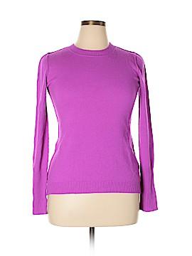 Aqua Cashmere Pullover Sweater Size L
